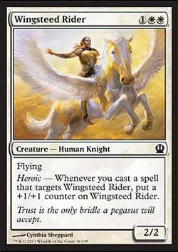 Wingsteed Rider (Geflügelte Reiterin)